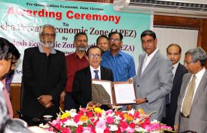 Arisha Private Economic Zone received Prequalification license